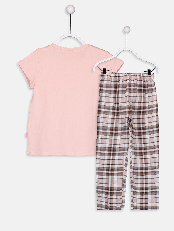%63 Pamuk %36 Polyester %1 Elastan %96 Pamuk %4 Elastane %100 Pamuk Standart Pijama Takım Kız Çocuk Pamuklu Pijama Takımı
