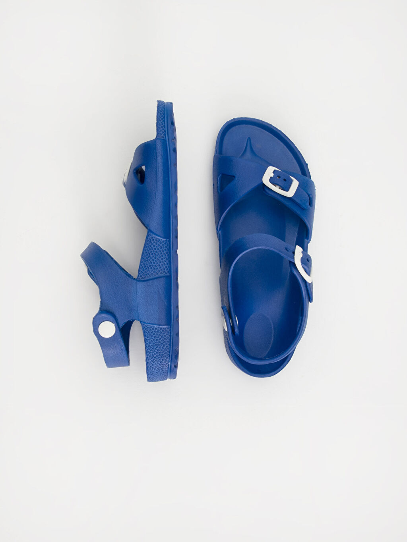 Sandalet Günlük Astarsız Tokalı Erkek Çocuk Sandalet