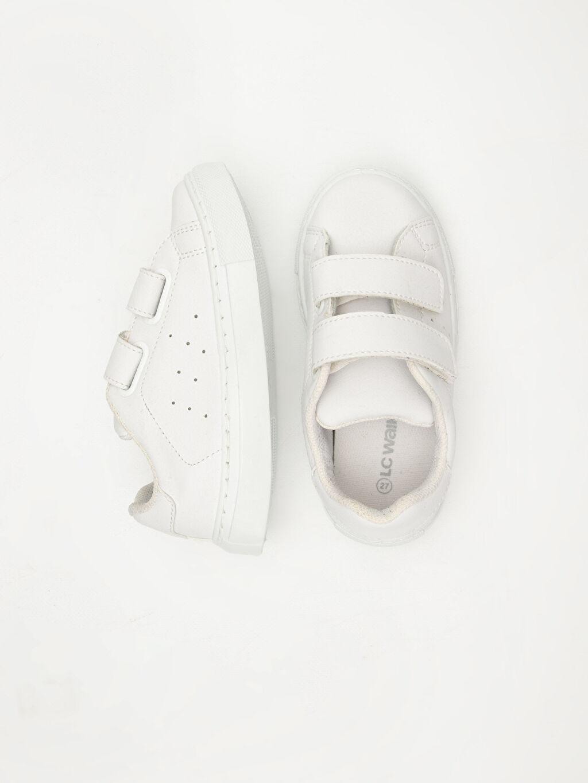 Diğer malzeme (pvc) Tekstil malzemeleri Cırt Cırt Sneaker Erkek Çocuk Cırt Cırtlı Ayakkabı