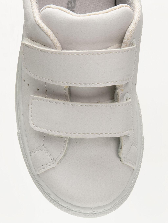 LC Waikiki Beyaz Erkek Çocuk Cırt Cırtlı Ayakkabı