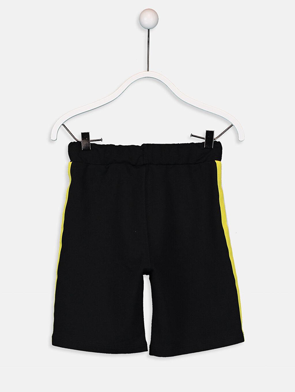 %82 Pamuk %18 Polyester Şort Düz Standart İnce Sweatshirt Kumaşı Erkek Çocuk Pamuklu Şort