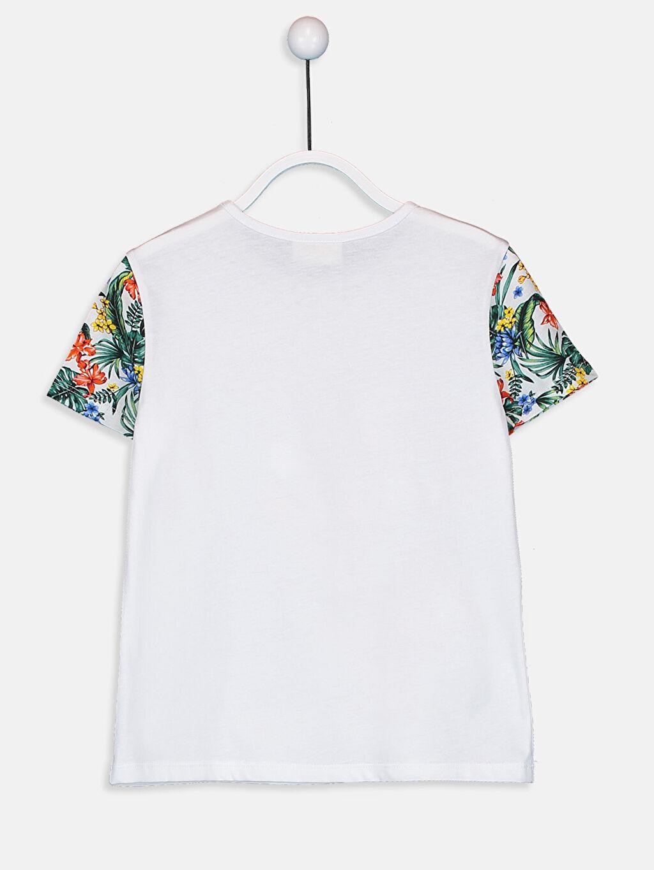 Kız Çocuk Kız Çocuk Mickey Mouse Baskılı Pamuklu Tişört