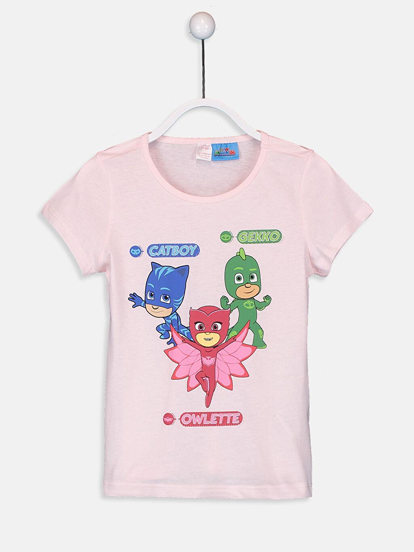 Kız Çocuk Kız Çocuk Pijamaskeliler Pamuklu Pijama Takımı