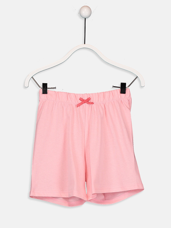 %100 Pamuk Kız Çocuk Tom ve Jerry Pamuklu Pijama Takımı