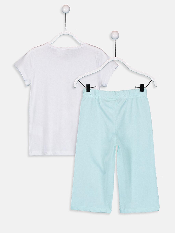 %100 Pamuk %100 Pamuk Penye Standart Tom&Jerry Pijama Takım Kız Çocuk Tom ve Jerry Pamuklu Pijama Takımı