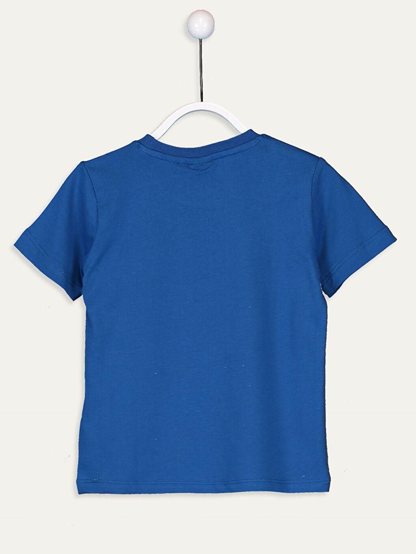 %100 Pamuk Baskılı Standart Kısa Kol Tişört Bisiklet Yaka Penye Pijamaskeliler %100 Pamuk Erkek Çocuk Pijamaskeliler Pamuklu Tişört