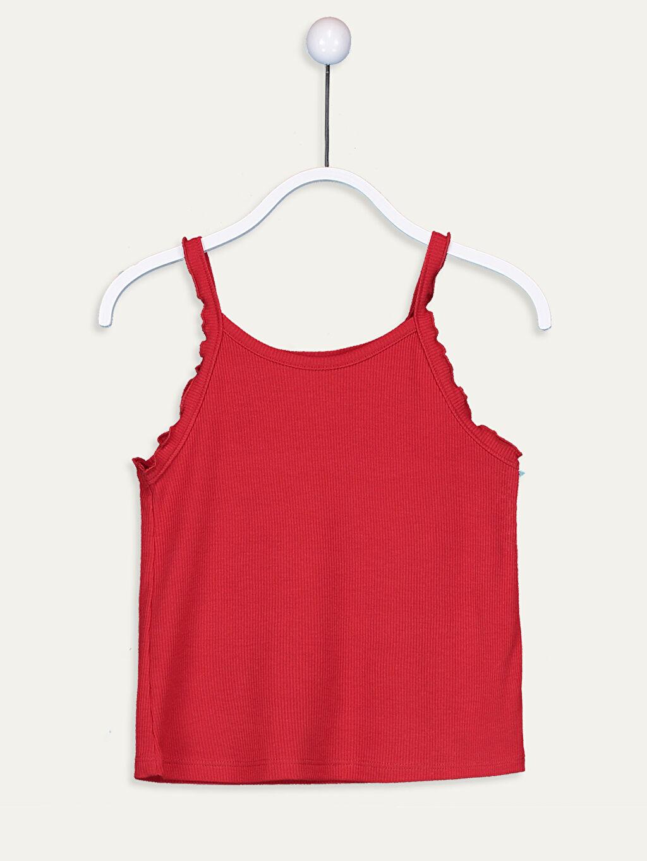 Kırmızı Kız Çocuk Atlet 9SB166Z4 LC Waikiki