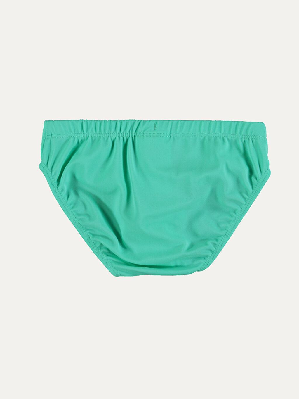 %80 Poliamid %20 Elastan %100 Polyester Düz Mayo Standart Plaj Slip Erkek Çocuk Slip Mayo