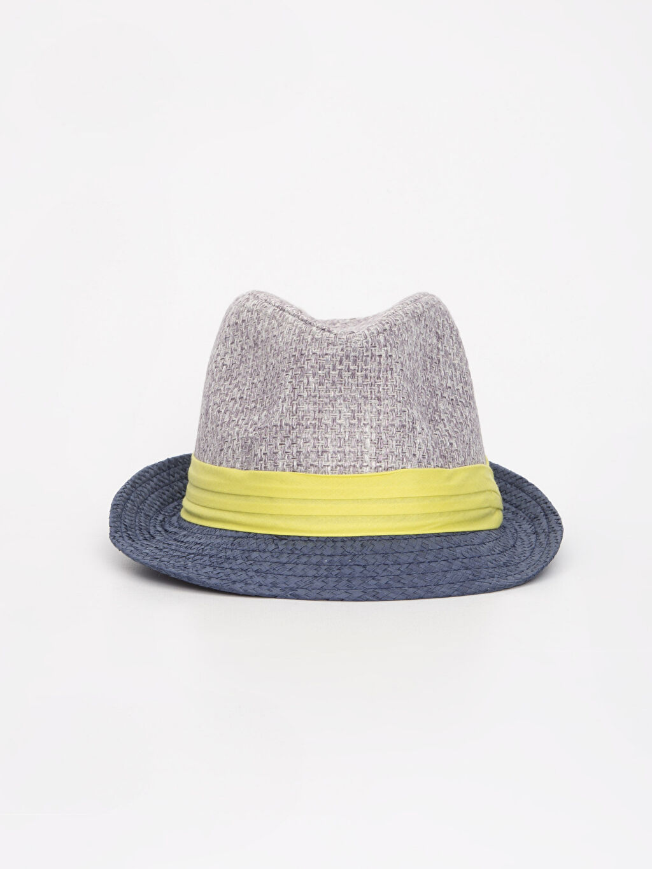 %100 Polyester %100 Polyester Şapka Hasır Astarsız Erkek Bebek Hasır Şapka