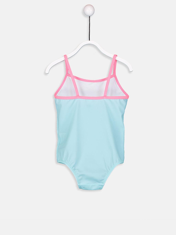 %79 Polyester %21 Elastan Kız Bebek Mayo
