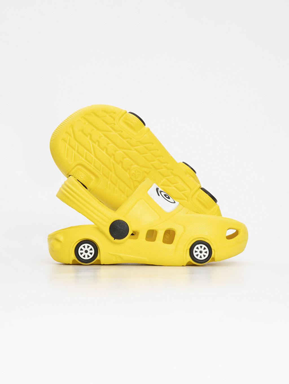 Erkek Bebek Erkek Bebek Desenli Sandalet