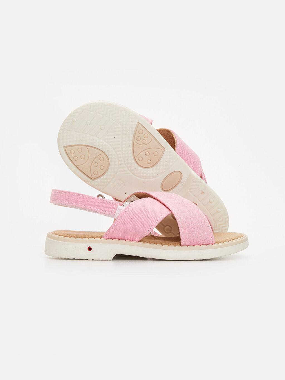 9SI653Z1 Kız Bebek Cırt Cırtlı Sandalet