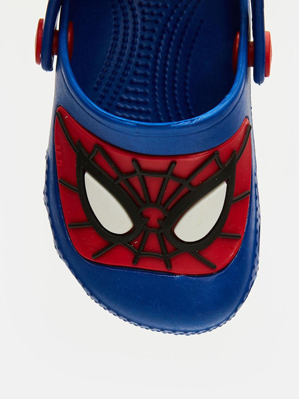 LC Waikiki Mavi Erkek Bebek Spiderman Baskılı Terlik
