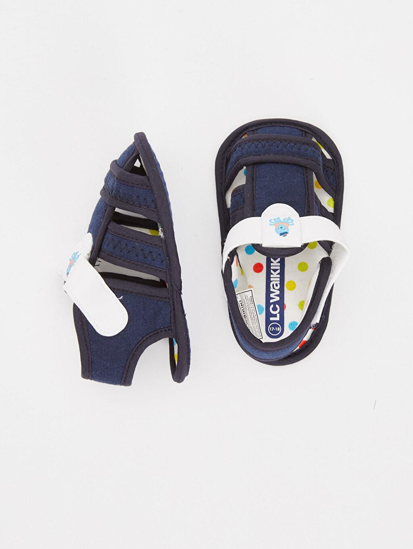 Tekstil malzemeleri Diğer malzeme (poliüretan) Tekstil malzemeleri Cırt Cırt Kısa Penye Astar Casual Sandalet Erkek Bebek Cırt Cırtlı Yürüme Öncesi Sandalet