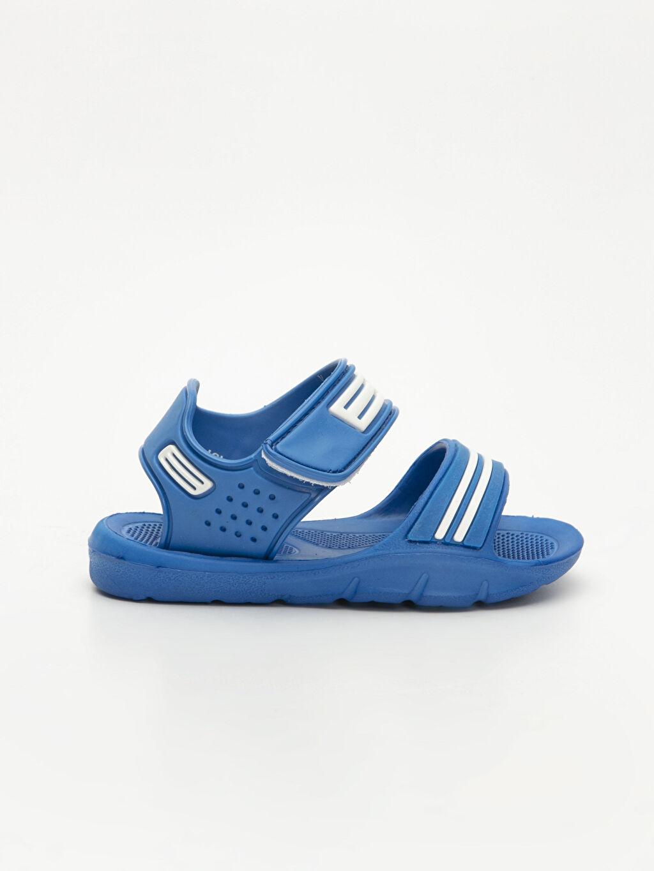 Mavi Erkek Bebek Cırt Cırtlı Sandalet 9SM867Z1 LC Waikiki