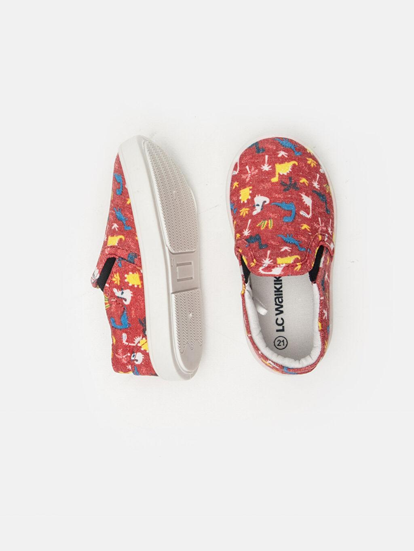Tekstil malzemeleri Tekstil malzemeleri Dokuma Astar Kısa Bağcıksız Sneaker Erkek Bebek Desenli Düz Ayakkabı