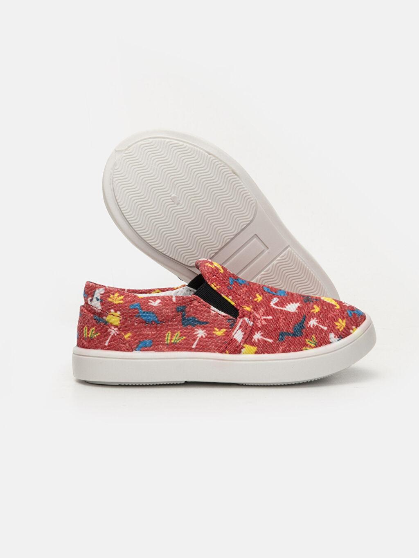 Erkek Bebek Erkek Bebek Desenli Düz Ayakkabı
