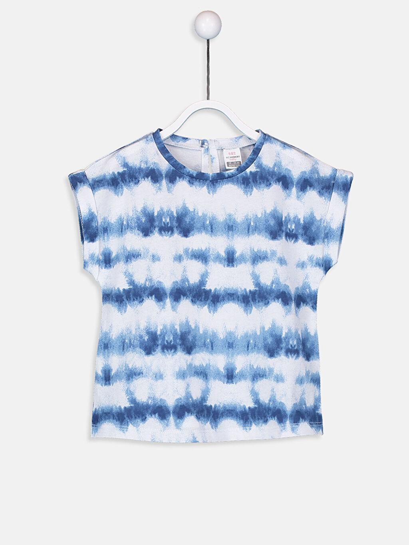 Mavi Kız Bebek Pamuklu Tişört 9SR607Z1 LC Waikiki