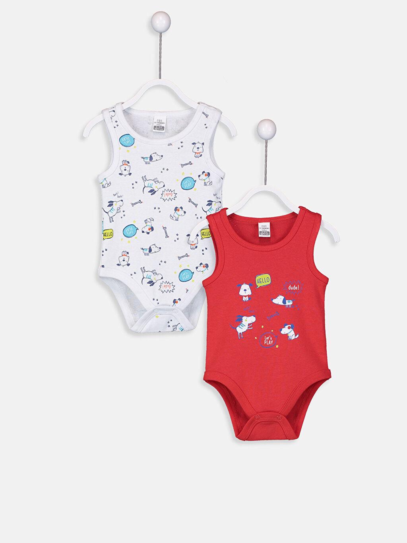 Erkek Bebek Erkek Bebek Çıtçıtlı Body 2'li