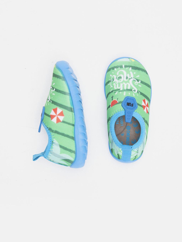 Tekstil malzemeleri Tekstil malzemeleri Diğer malzeme (poliüretan) Plaj Bağcıksız Deniz Ayakkabısı Pelüş Erkek Bebek Deniz Ayakkabısı