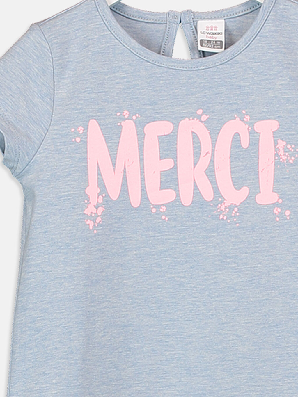 Kız Bebek Kız Bebek Baskılı Pamuklu Tişört
