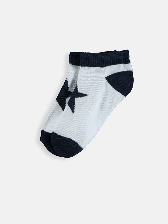 Erkek Bebek Patik Çorap 3'lü
