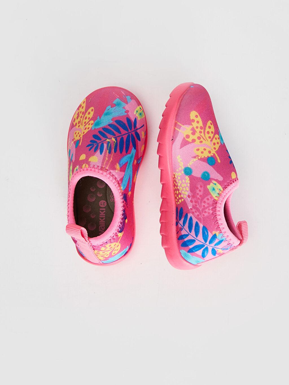 %0 Tekstil malzemeleri (%100 poliester) Deniz Ayakkabısı Kısa Kumaş Astar Kısa(0-2cm) Diğer Kız bebek Baskılı Deniz Ayakkabısı