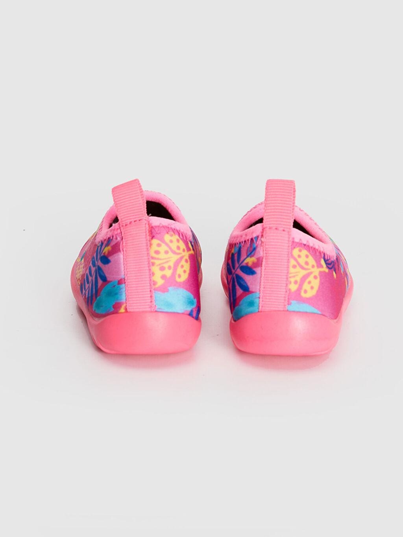 Kız bebek Baskılı Deniz Ayakkabısı