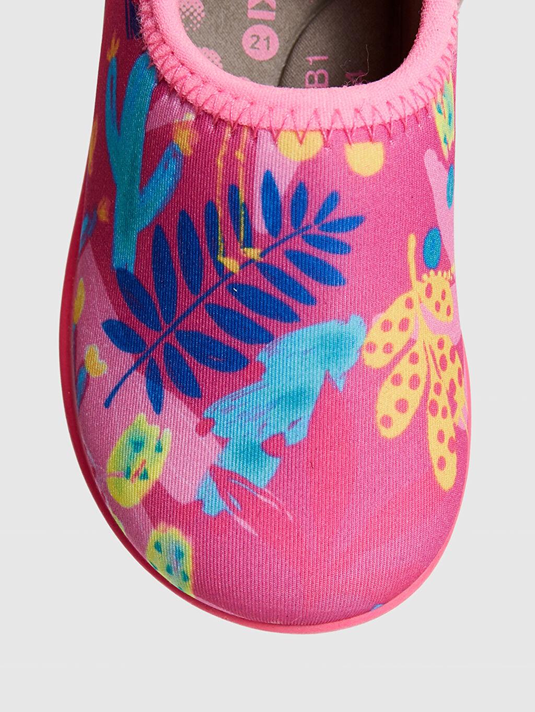 LC Waikiki Pembe Kız bebek Baskılı Deniz Ayakkabısı