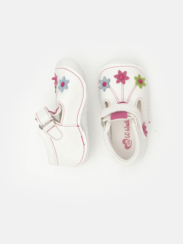 %0 Diğer malzeme (poliüretan) Pamuk Astar İlk Adım Ayakkabısı Kısa(0-2cm) Cırt Cırt Kısa Kız Bebek İlk Adım Çiçekli Ayakkabı
