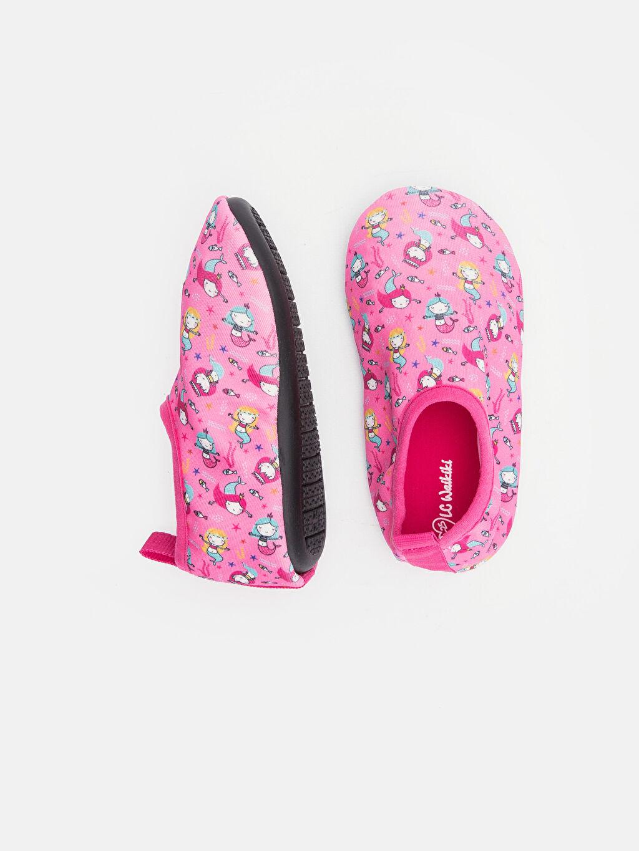 %0 Tekstil malzemeleri (%100 poliester) Deniz Ayakkabısı Kumaş Astar Kısa(0-2cm) Diğer Kısa Kız Bebek Desenli Deniz Ayakkabısı