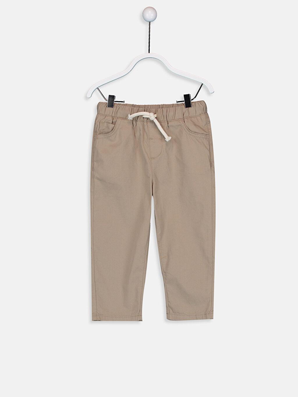 Bej Erkek Bebek Gabardin Pantolon 9SY010Z1 LC Waikiki