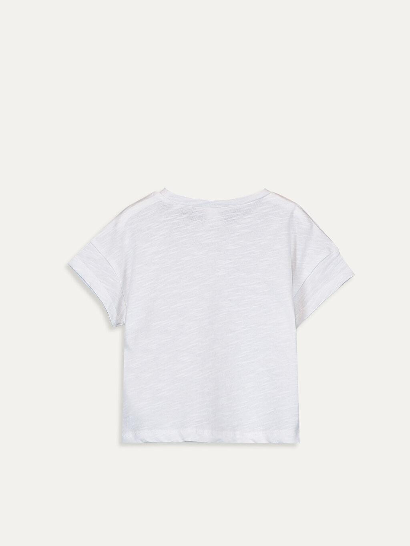 %96 Pamuk %3 Polyester %1 Elastan Standart Süprem Baskılı Tişört Bisiklet Yaka Kısa Kol Erkek Bebek Baskılı Pamuklu Tişört