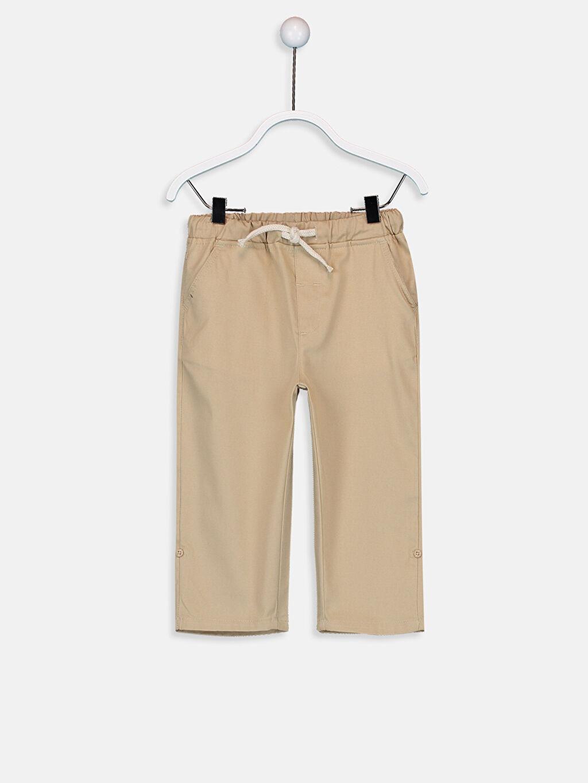 Bej Erkek Bebek Gabardin Pantolon 9SA687Z1 LC Waikiki