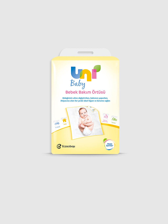 Beyaz Uni Baby Bebek Bakım Örtüsü 9SA710Z1 LC Waikiki