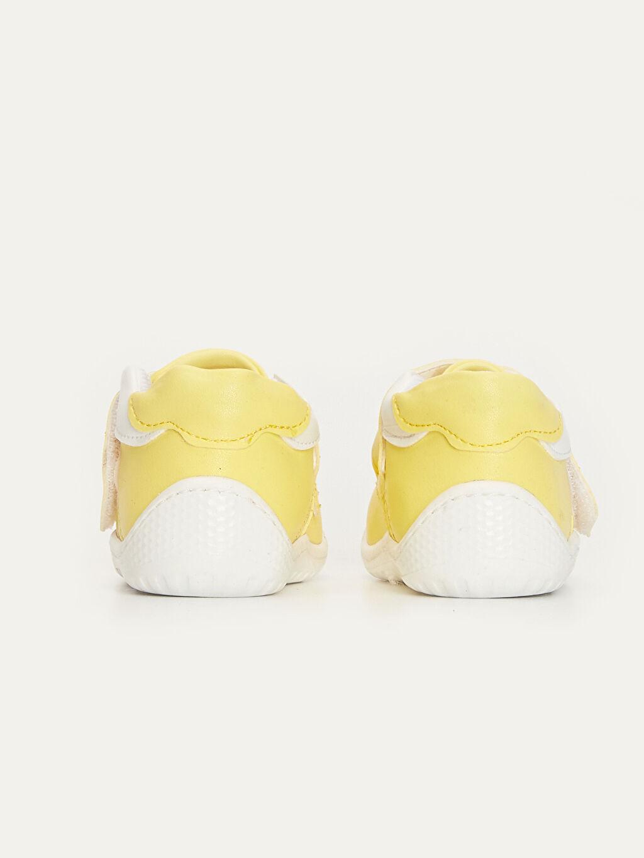 Erkek Bebek İlk Adım Cırt Cırtlı Ayakkabı