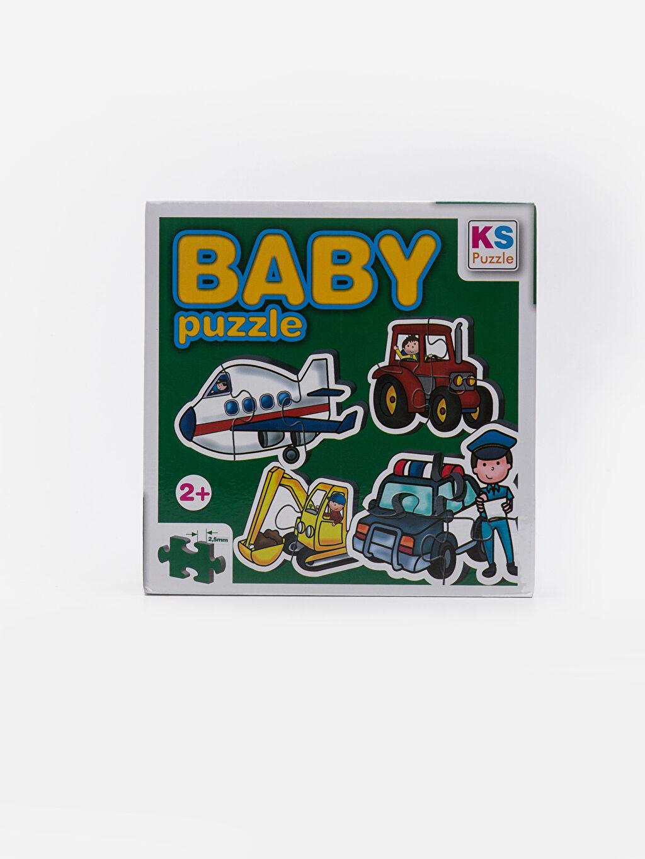 Beyaz Kız Bebek Puzzle Oyuncak 9SB026Z1 LC Waikiki