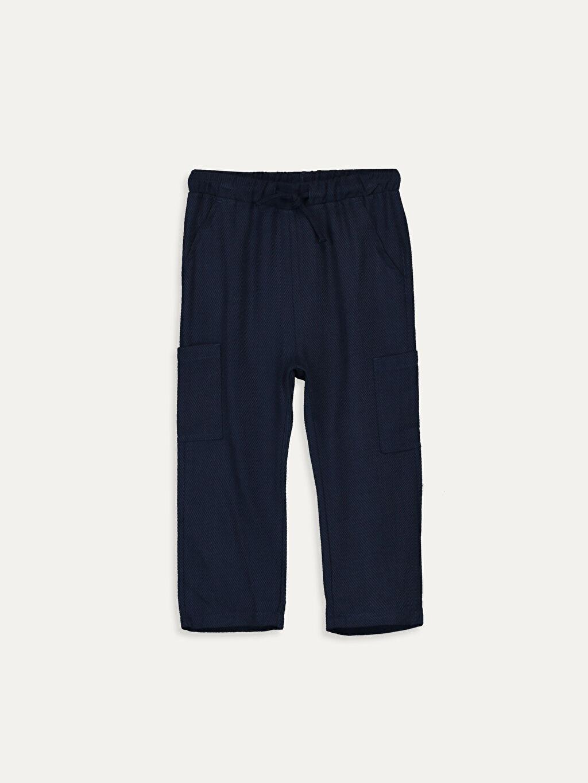 Lacivert Erkek Bebek Harem Pantolon 9SC050Z1 LC Waikiki
