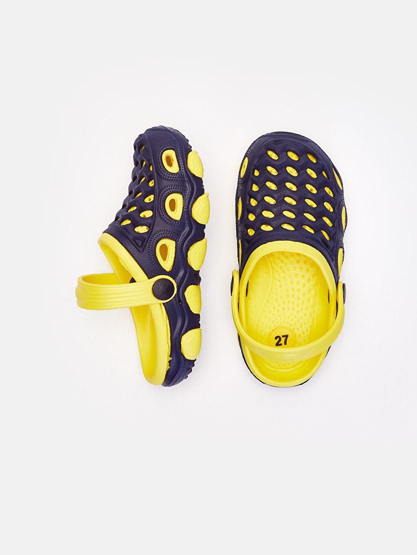 Sandalet Günlük Tokalı Erkek Bebek Sandalet
