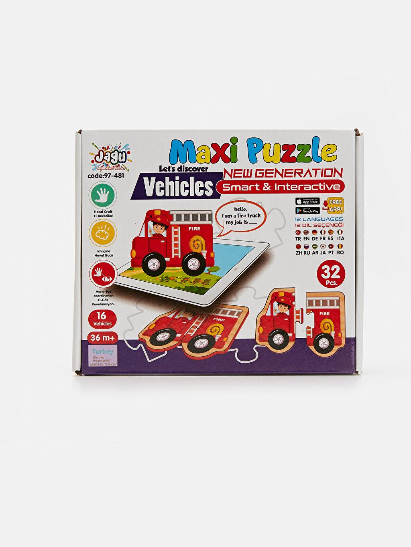 Beyaz Eğitici Oyuncak Puzzle 9SC815Z1 LC Waikiki