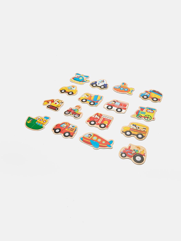 %100 Kağıt Oyuncak ve Kırtasiye Eğitici Oyuncak Puzzle