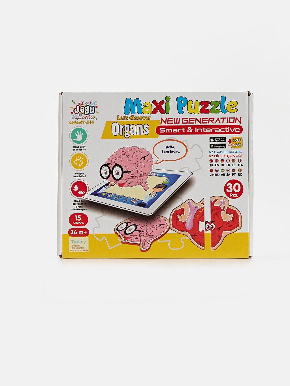 Beyaz Eğitici Puzzle Oyuncak 9SC817Z1 LC Waikiki