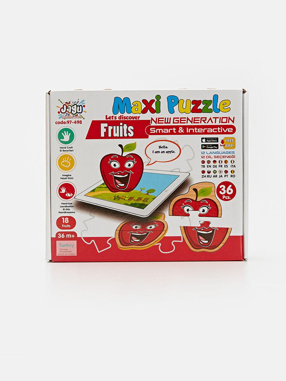 Beyaz Eğitici Oyuncak Puzzle 9SC819Z1 LC Waikiki