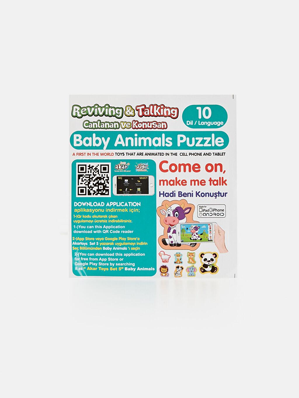 Kız Bebek Eğitici Oyuncak Puzzle