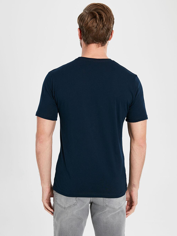 Erkek Slim Fit Basic Kısa Kollu Tişört