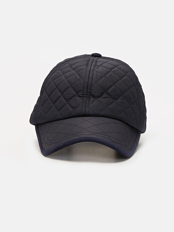 %100 Polyester %100 Polyester Kep Şapka Kapitone Şapka