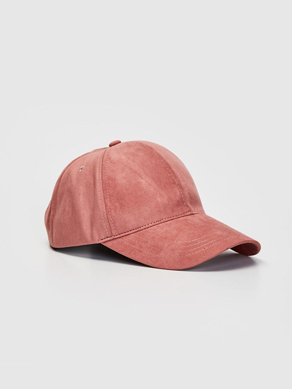 Pembe Süet Şapka 9W0305Z8 LC Waikiki