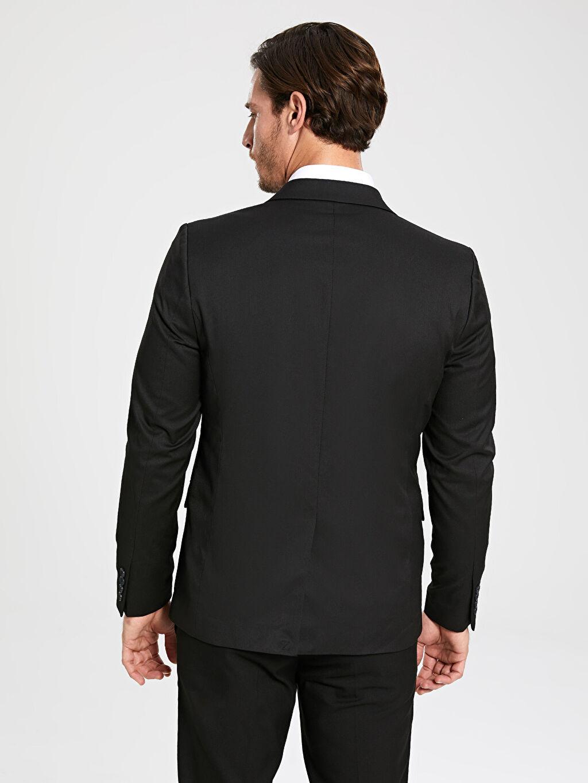 9W1963Z8 Dar Kalıp Takım Elbise Ceketi