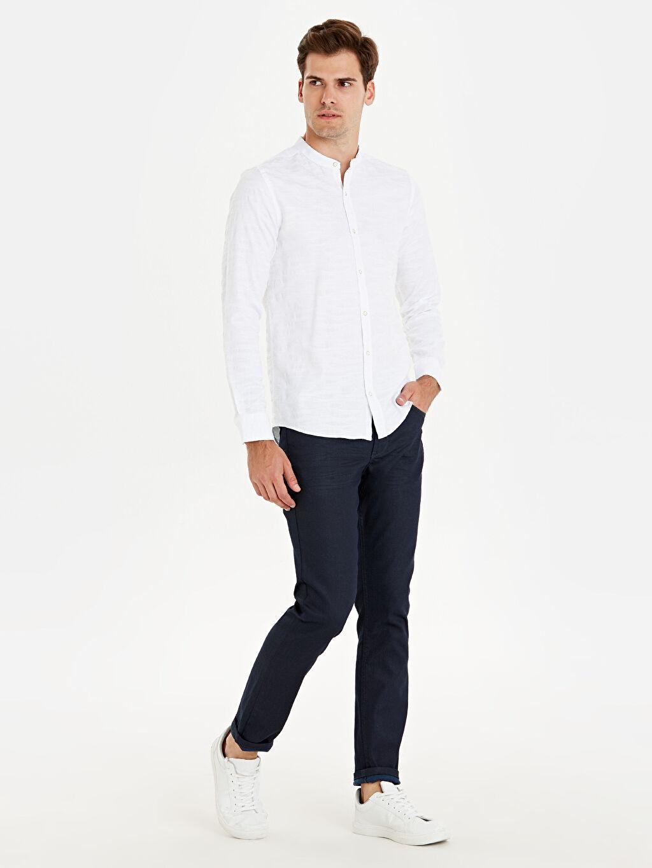 İndigo 750 Slim Fit Jean Pantolon 9WG086Z8 LC Waikiki