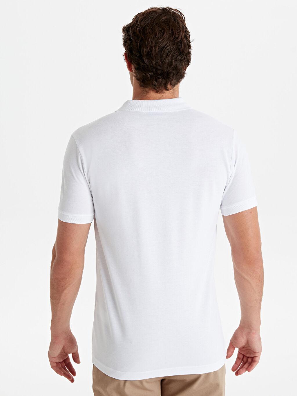 %100 Pamuk %100 Pamuk Düz Standart Tişört Pike Polo Yaka Kısa Kol Polo Yaka Kısa Kollu Basic Pike Tişört